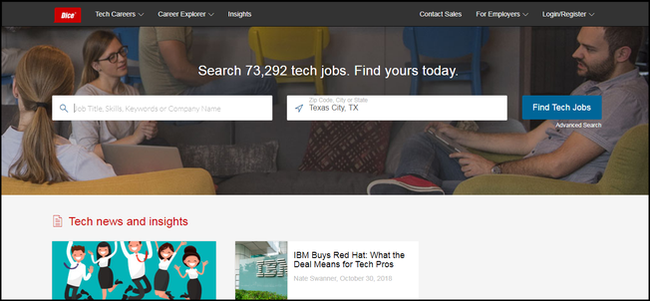 the best job search engines