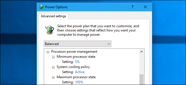 HTG Explains: What Are All Those Advanced Power Settings in