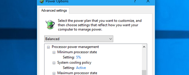 HTG Explains: What Are All Those Advanced Power Settings in Windows?
