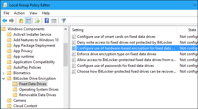 You Can't Trust BitLocker to Encrypt Your SSD on Windows 10