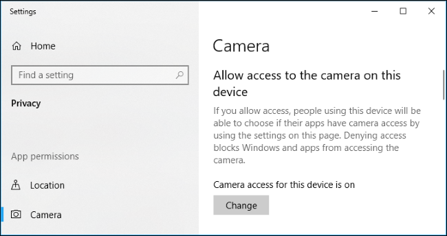 Fix My Webcam Doesn T Work On Windows 10