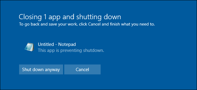What Exactly Happens When You Shut Down or Sign Out of Windows?