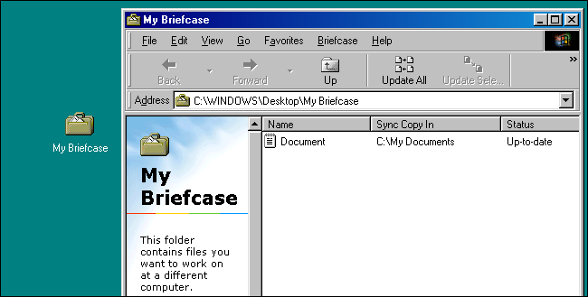 What Was the Windows Briefcase Used For, Anyway?