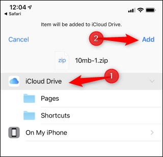 How to Unzip a Zip File With Your iPhone or iPad's Files App