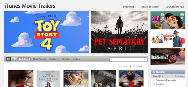 The Best Websites for Viewing Movie Trailers