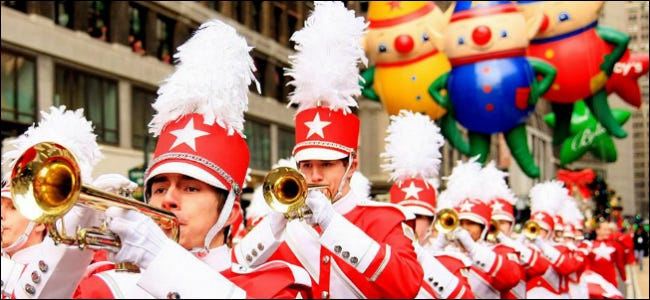 macy's thanksgiving day parade band