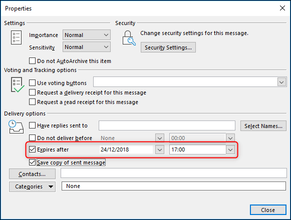 how to edit email send date in outlook