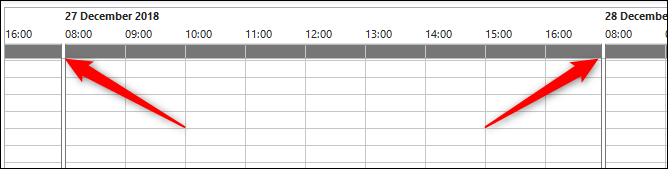 meeting hours show 8 am to 5 pm by default