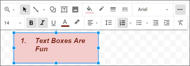 Adding text Boxes is easy and fun!