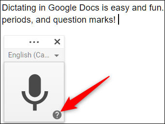 How to Use Voice Typing in Google Docs