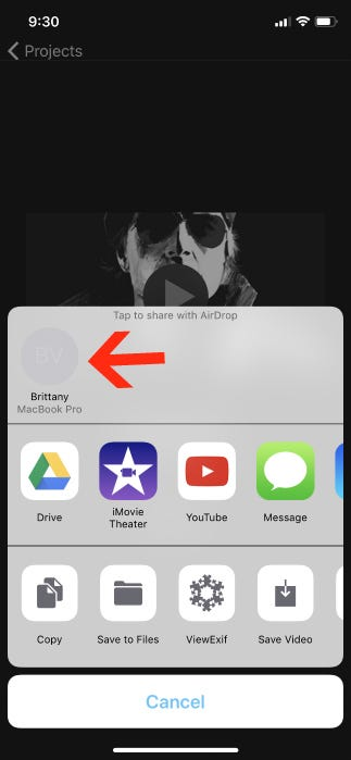 How To Move an iMovie Project From Your iPhone or iPad to