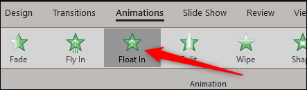 Float In Animation