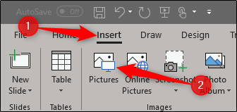 Insert an Image in PPT