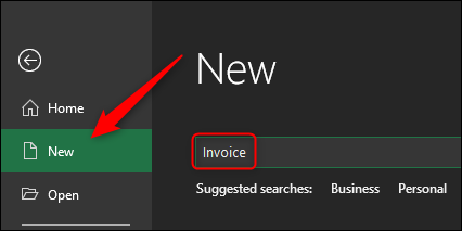 Nuevo: búsqueda de facturas