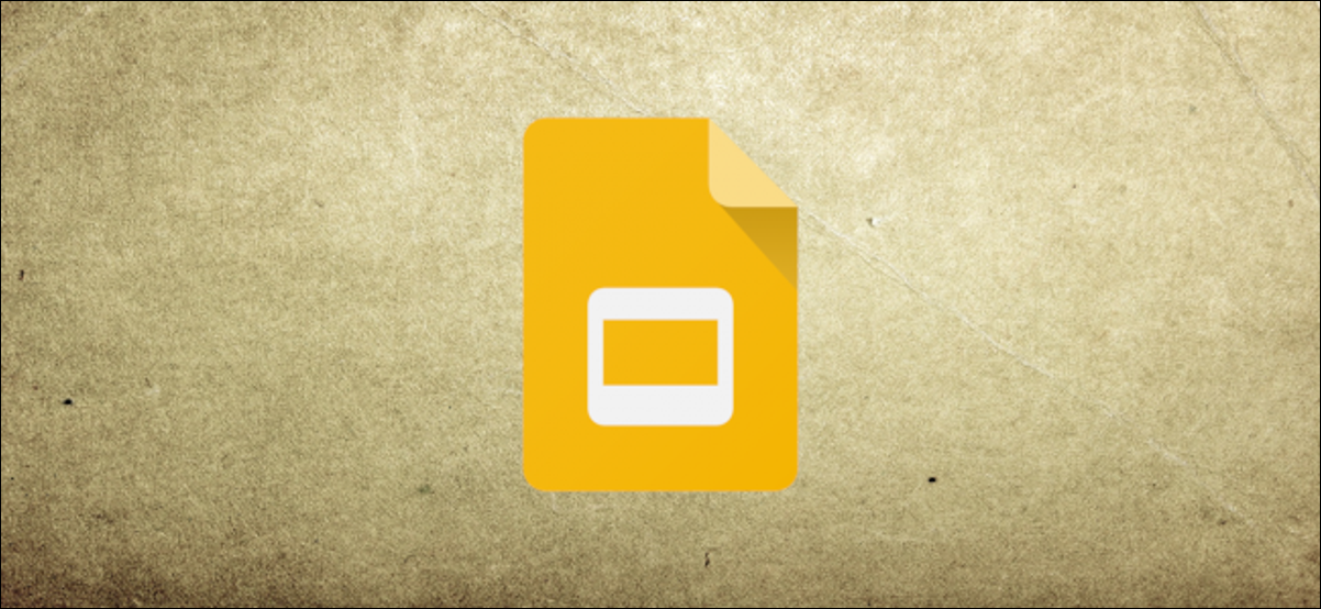 Google Slides header