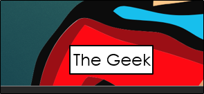 The Geek nametag