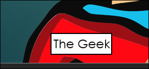 The Geek nametag