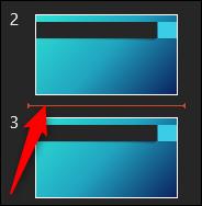 area between slides