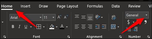 cuadro de número de formato