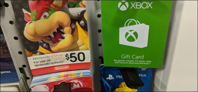 How To Redeem an Xbox One, PlayStation 4, or Nintendo Switch Gift Card