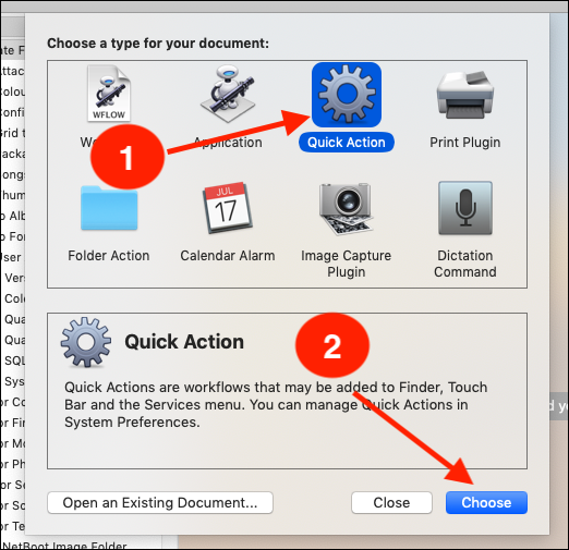 Use Automator to Convert and Resize Image Files