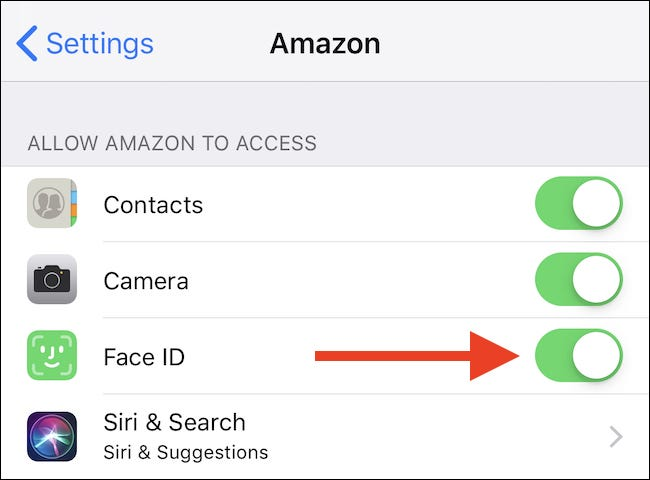 How to Revoke Face ID Access For Apps