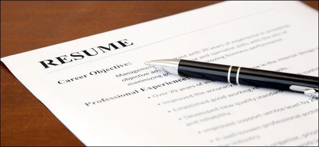 The Best Sites For Building A Resume