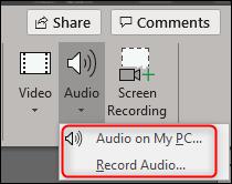 two audio options