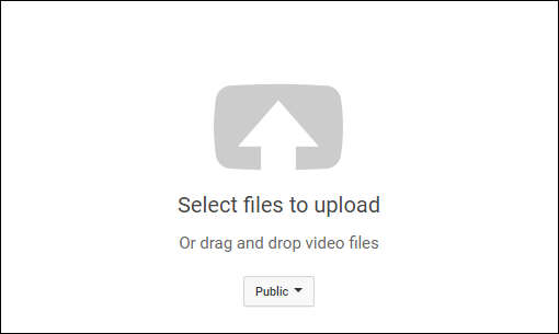 upload to youtube