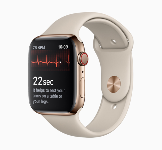 ECG app and irregular heart rhythm notification available today on Apple Watch""
