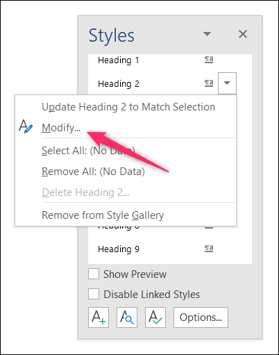 how to change sheets default headings
