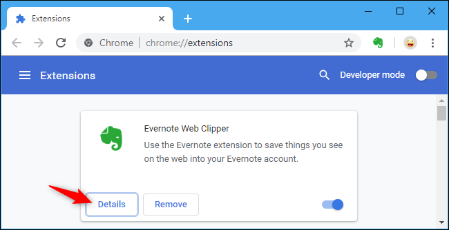 chrome disable extensions on certain sites