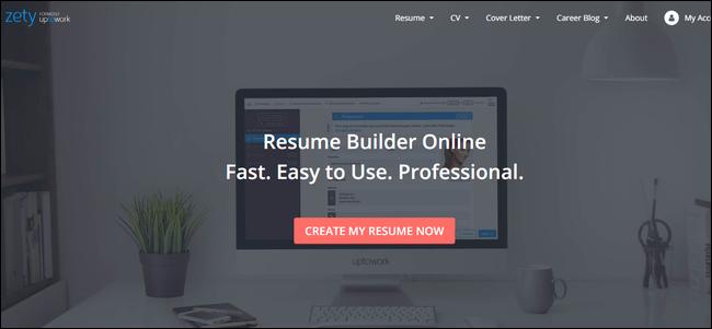 zety resume maker