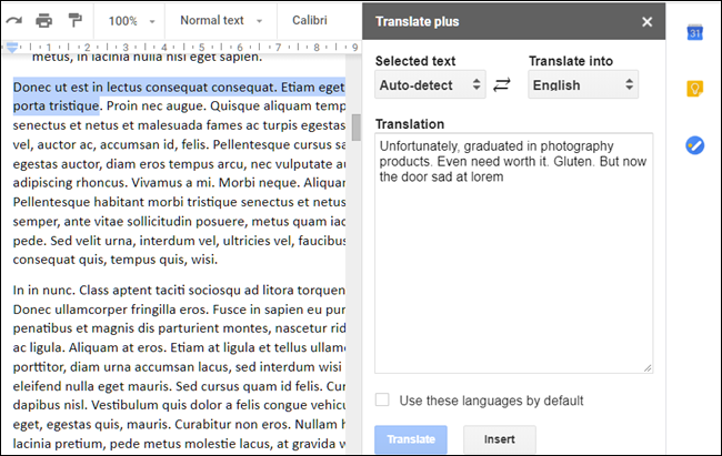 Translate Plus add-on