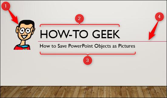 4 objects in powerpoint
