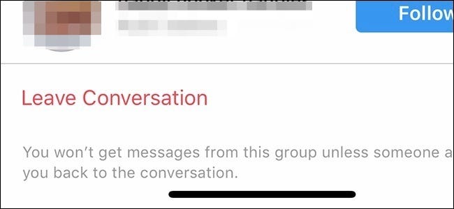 Leaving a Facebook group