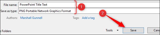 Rename image file and save