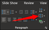 align text button