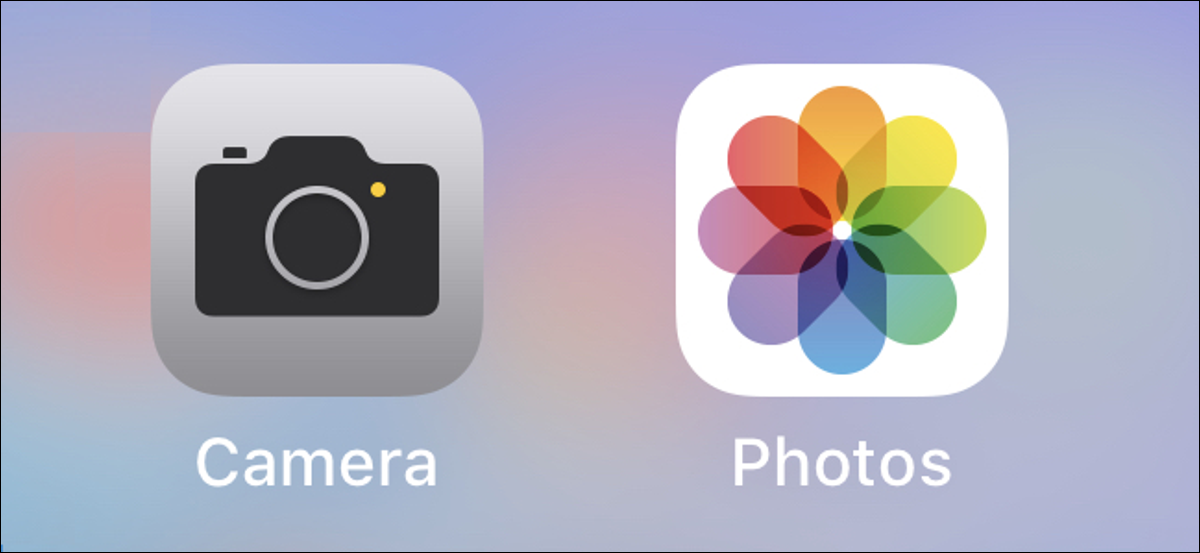 Camera and Photos apps