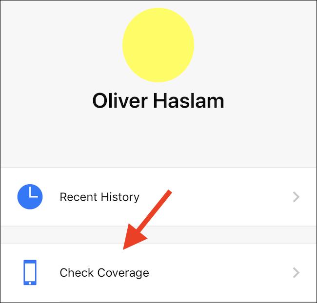 Click Check Coverage