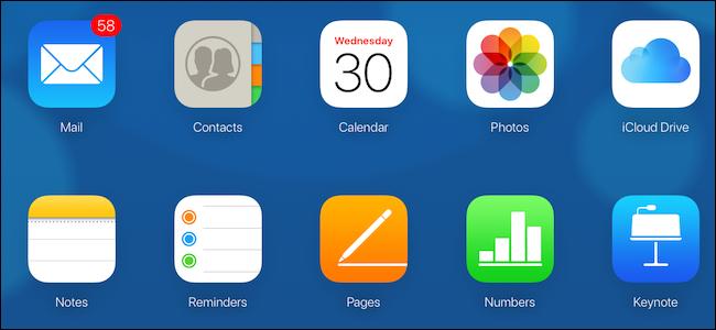 iCloud desktop