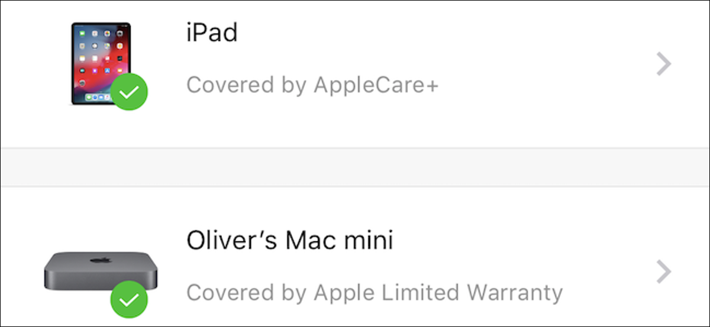 AppleCare coverage