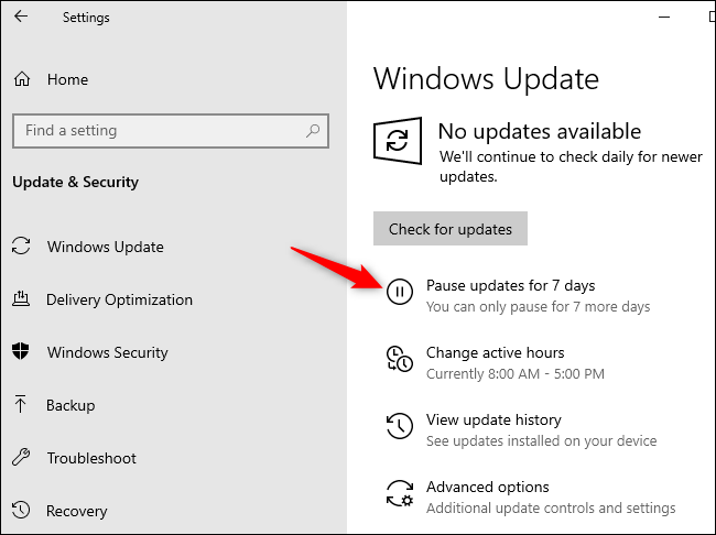 windows 10 home will finally let you pause updates
