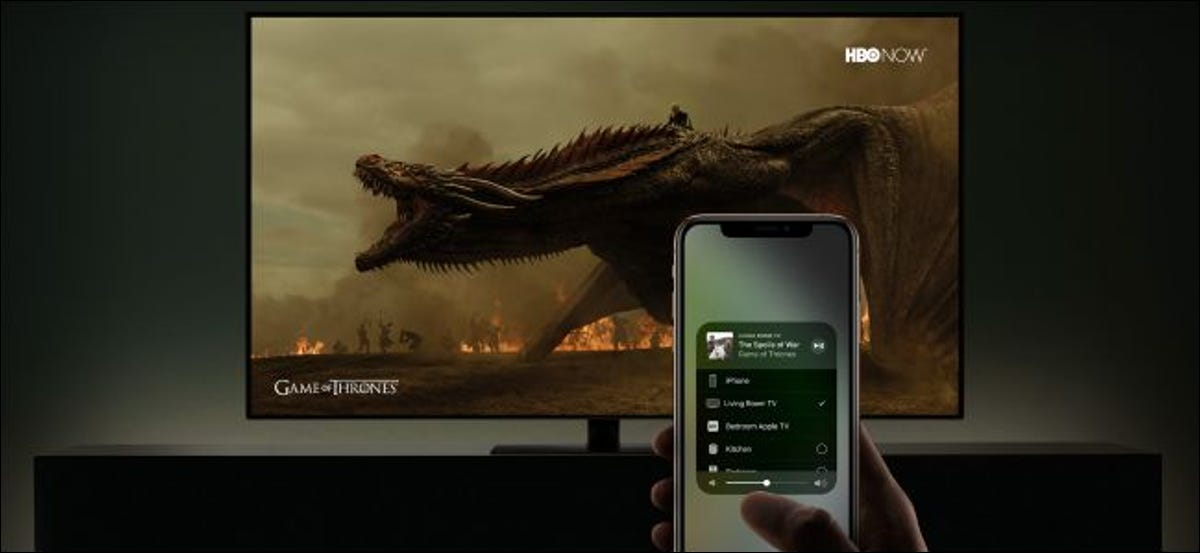 Airplay to Smart TV with HBO