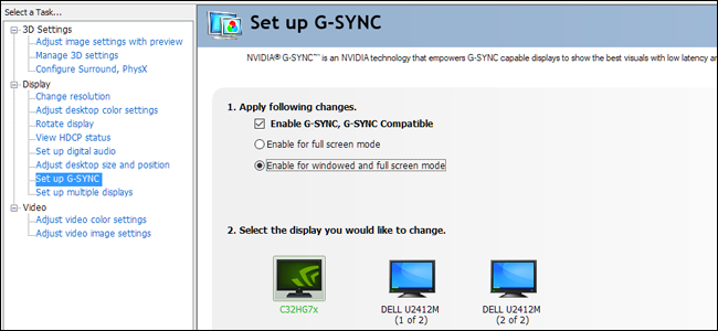 How to Enable G-SYNC on FreeSync Monitors: NVIDIA's G-SYNC