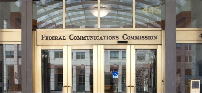 U.S. Federal Communications Commission Headquarters in Washington, DC