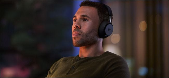 Dolby Dimension Headphones feature head tracking for consistent surround sound.