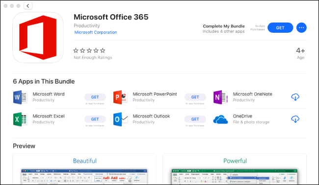 Get Office From the Mac App Store for a Better Update Experience