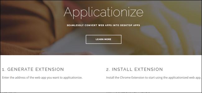 Applicationize,me website.