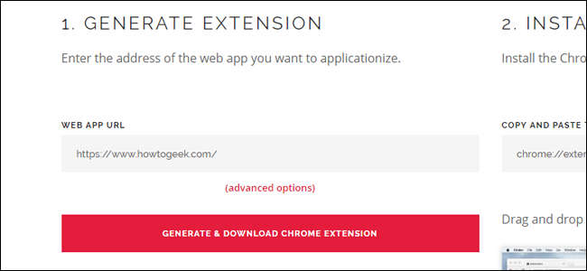 Applicationize.me CRX download.